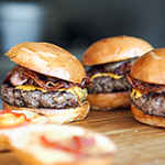 Gourmet Burgers for Food Truck Catering